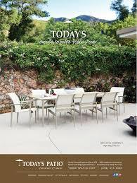 Brown jordan flight sling collection todays patio magazine ad
