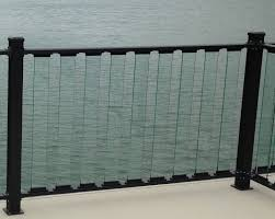 Decking Frosted Glass Railing Glass Guardrails Glass Deck Railing