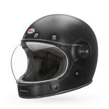 Bell Bullitt Carbon Motorcycle Helmet Matte Black