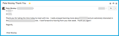 Write An Awesome Follow Up Email After Your Interview Howtoanalyst