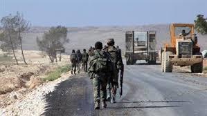 Image result for آزادسازی 40 کیلومتر از جاده استراتژیک تدمر- دمشق