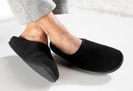 Mens Temperature Regulating Slippers Sharper Image