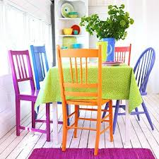 colorful dining rooms. Colorful Dining Room Tables Of Worthy Mix And Match Furniture Ideas Image Rooms
