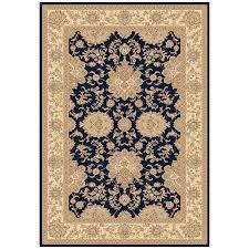 dynamic rugs charisma 1409 reverse border persian rug mediterranean blue hayneedle