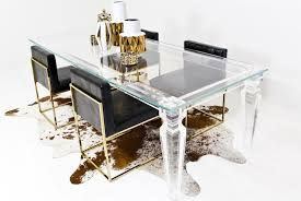 palm beach lucite dining table mod in plans 2