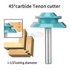 lock miter router bit. wood cutter tools 45 degree lock miter router bit 1/4 t