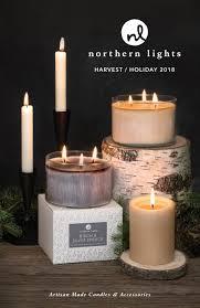 Northern Lights White Pumpkin Candle 2018 Northern Lights Holiday Catalog By Northern Lights