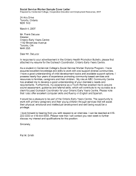 Social Work Cover Letter Project Scope Template