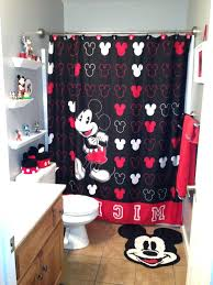 red shower curtain set shower curtain set bathroom ideas kids bathroom sets with mickey mouse shower red shower curtain set
