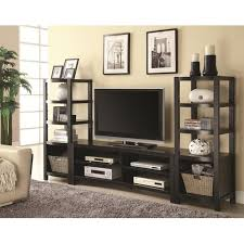 Living Room Furniture Free Shipping Coaster 700697 Brown Wood Tv Stand Steal A Sofa Furniture Outlet