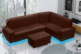 U Form Neu Garnitur Polster Couch Sofa Ecksofa Ecke Ecke