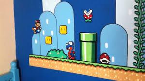Mario Bedroom Decor Mario Bros Hama Beads Wall Decoration Youtube