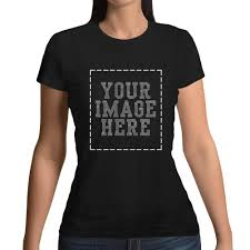Design Your Own Bedazzled T Shirt Womens Custom T Shirt Personalized Tee Shirts Design Your Own Image With Rhinestone