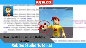 Make Roblox How To Create Tools And Gear In Roblox Youtube