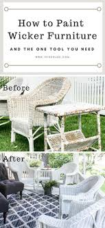 how to protect outdoor furniture. How To Paint Wicker Furniture For A Long Lasting Finish Protect Outdoor