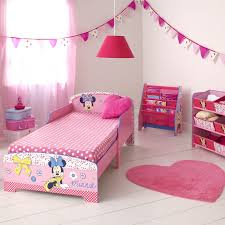 Pink Minnie Mouse Bedroom Decor Minnie Mouse Toddler Bed Is Lovely Theme Cute Toddler Bedding