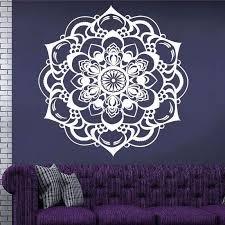 enchanting indian flower mandala wall art  on mandala wall art with enchanting indian flower mandala wall art nana berben