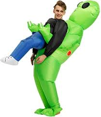 FENWOOH <b>Alien Inflatable</b> Costumes Fancy Costume <b>Halloween</b>