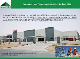 Building Constructions Company Construction Companies In Jafza Dubai Uae Pravarthi