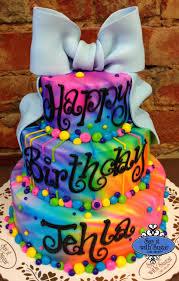 Tie Dye Birthday Cake Designs Tie Dye Birthday Cake All About Food Drinks Jojo Siwa