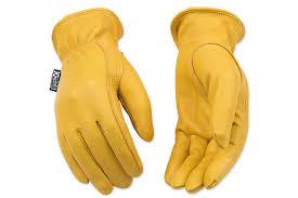 Kinco Womens Unlined Grain Deerskin Leather Driver Gloves