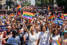Gay pride parade locations
