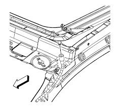 Equinox 2007 chevrolet equinox manual repair instructions sunroof housing front drain hose replacement