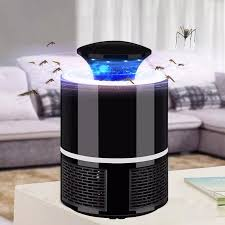 Blue Light Bug Trap Usb Led Electric Mosquito Killer Lamp Fly Insect Bug Trap Zapper Light Indoor Safe