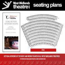 Stages Repertory Theatre Seating Chart West Midlands Theatre Seating Plan For The Stoke On Trent