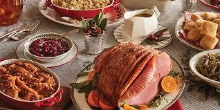 Image result for christmas ham dinner