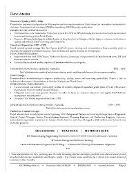Manufacturing Engineering Sample Resume Unique Resume Summary Sample For Engineering Freshers On A Examples Pro