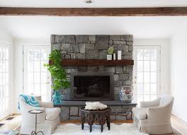 via lonny rustic fireplace walls36 fireplace