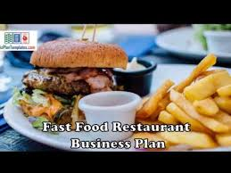 Fast Food Restaurant Business Plan - Template With Example And ...