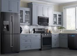 Full Size of Kitchen:kitchen Cabinets Black Appliances Kitchens With  Stainless Steel Liances Black Kitchen ...