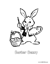 Small Picture Easter bunny artist coloring pages Hellokidscom