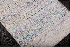 rugsville flatweave ivory purple hand woven wool rug 60 x 90