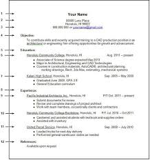 Resume Example Page Of 8