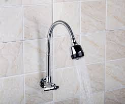 Small Picture Wall Mount Kitchen Faucet Wall Mount Kitchen Faucet With Soap Dish