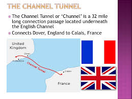 Image result for The agreement to build a tunnel under the English Channel