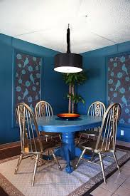 alluring blue dining rooms 18 exquisite inspirations design tips at regarding kitchen table prepare 16