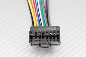 new pioneer 16 pin car cd player wire wiring harness lead 16 pin harness adapter for pioneer stereos click here to enlarge images product features