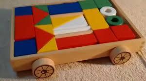 ikea building blocks with wagon