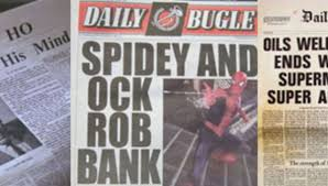 Popular papers with smaller pages than more serious newspaper. 24 Wild And Crazy Newspaper Headlines From Sci Fi Movies And Tv