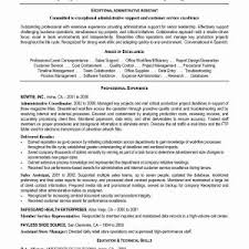 Sample Resume For Administrative Assistant And Customer Service ...