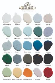 Color Chart Miss Mustard Seeds Milk Paint