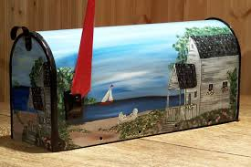 hand painted mailbox designs. Click To Enlarge Hand Painted Mailbox Designs A