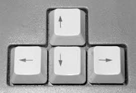 arrow keys arrow keys