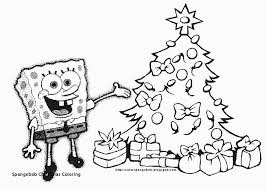 18 Fresh Spongebob Christmas Coloring Pages Coloring Page