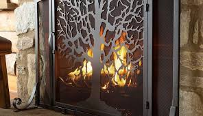 and dutch screen holder uniflame baskets high small wide fireplace hearth under mac modern ideas