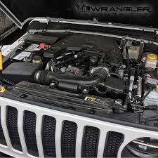 Do we have a pic of the engine bay with a 3.6L Pentastar? | 2018+ ...